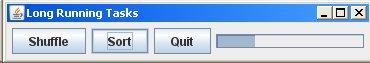 Swing long running tasks