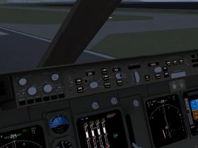 747-400 Auto pilot