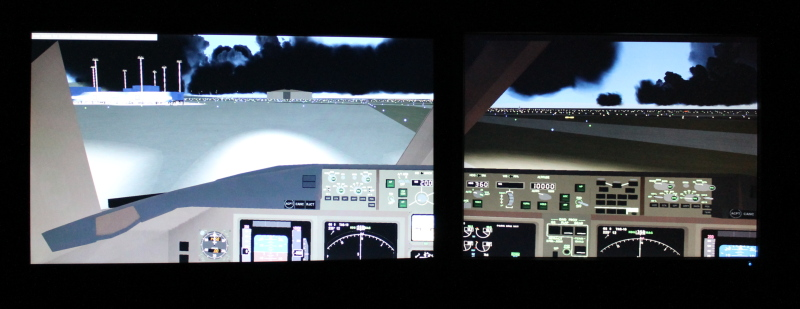 FlightGear Multi Monitor